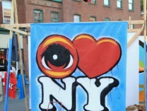 EYE Heart ART! - Live Colborative Mural