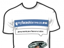 A photo of MyFaceShirtPrize +1  A Walking Canvas
