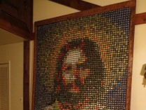 A photo of Jesus Mosaic