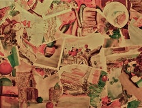Photo of water color montage/