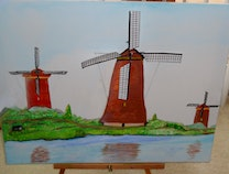 Photo of Authentic Dutch Windmills
