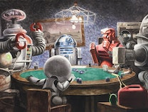 Photo of Robots Playing Poker