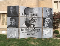 Photo of The Peace Wall
