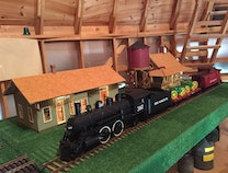 Photo of Pere Marquette with Jenison and Hudsonville Train Depots