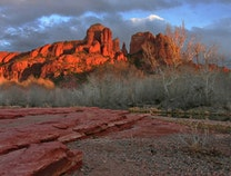 Photo of cathedral rock