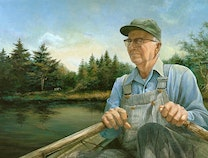 Photo of fishing with grandpa