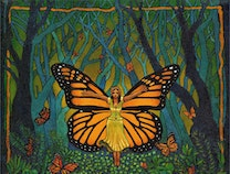 Photo of la Mariposa Reina, The Butterfly Queen