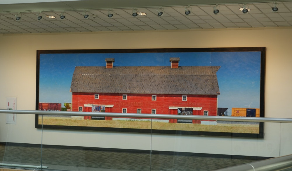 My Entry For Artprize 2013 Titled American Graffiti Is A Barn In Series Barns Are Large Indoor Wall Pieces And The Size 68