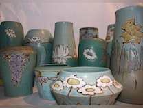 Photo of Pots of Flowers