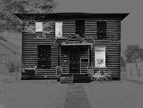 Photo of Drawing of a House (Triptych)