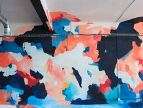 Photo of Abstract Mural: Expansion