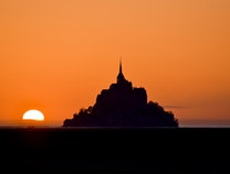 Photo of Le Mont-Saint-Michel At Sunset