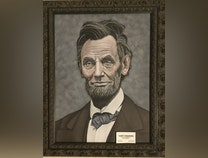 Photo of American presidential portraits