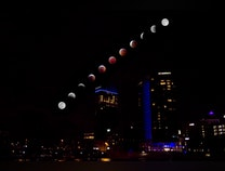 Photo of The 20ths of January (Lunar Eclipse over Grand Rapids)